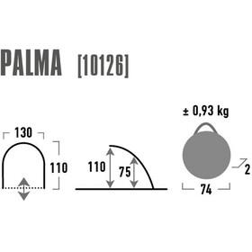 High Peak Palma - gris/bleu